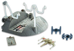 Mattel Hot Wheels - Star Wars manőver a Halálcsillag hőkivezetője felé versenypálya
