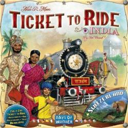 Days of Wonder Ticket to Ride India & Switzerland-Map Collection - 2. kiegészítő