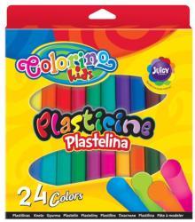 Colorino Kids Színes gyurmakészlet, 24db-os