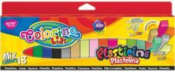 Colorino Kids Színes gyurmakészlet, 18db-os (hasáb alakú)