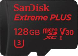 SanDisk microSDXC Extreme PRO 128GB UHS-I U3 V30 SDSQXXG-128G-GN6MA