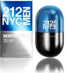 Carolina Herrera 212 Men NYC New York Pills EDP 20ml