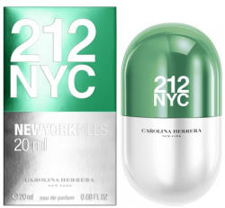 Carolina Herrera 212 NYC New York Pills EDP 20ml