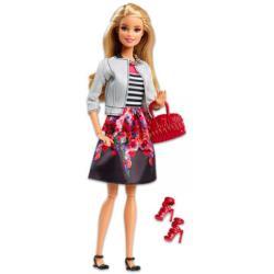 Mattel Fashionista barátnők - óriás szempillával, virágos szoknyában