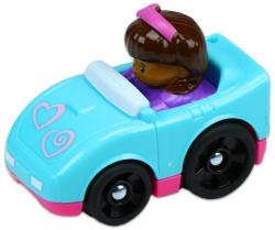 Fisher-Price Little People autópajtások - kék szívecskés autó