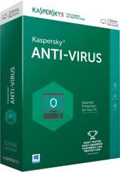 Kaspersky Anti-Virus 2017 Renewal (1 User, 1 Year) KL1171OBABR