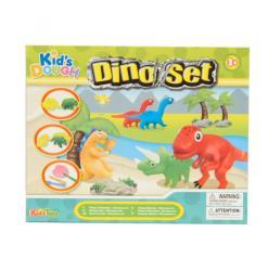 Kid's Toys Dinoszauruszos gyurmakészlet 13 db-os