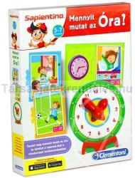 Clementoni Sapientino - Mennyit mutat az óra? fejlesztő játék (64049)