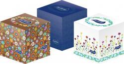 Harmony Cube Box dobozos papírzsebkendő  3 rétegű 60db