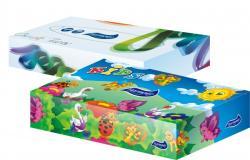 Harmony Universal Box dobozos papírzsebkendő  2 rétegű 100db