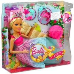 Mattel Barbie - Végtelen Csodahaj Királyság - szőke Barbie 43cm