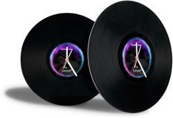 7th Sense Vinyl Clock