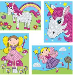 Galt Set creativ Zane si unicorni (1004117)