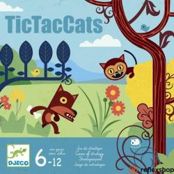 DJECO TicTacCats - taktikai társasjáték