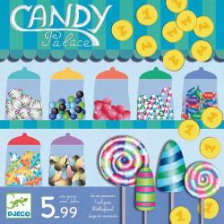 DJECO Candy palace - Édességek tárháza - taktikai társasjáték