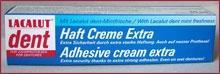 Lacalut Dent extra műfogsorrögzítő krém 40g