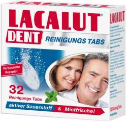 Lacalut Dent műfogsortisztító tabletta 32db