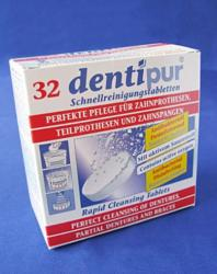 dentipur Műfogsor tisztító tabletta 32db