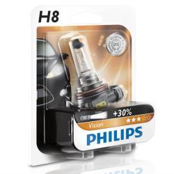 Philips Bec auto halogen pentru far Philips Vision +30% H8 35W 12V 12360B1