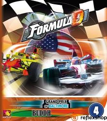 Asmodee Formula D - Baltimore és Buddh kiegészítő