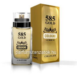 Chatler 585 Gold Cologne Men EDT 75ml