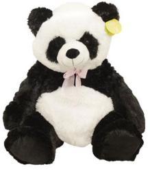 UNIKATOY Plüss ülő panda - 50cm