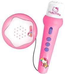 Reig Hello Kitty zenélő mikrofon erősítővel