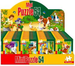 D-Toys Háziállatos mini puzzle 54 db-os (többféle) (60464)
