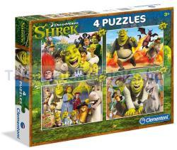 Clementoni Shrek 2x20 és 2x60 db-os 07609