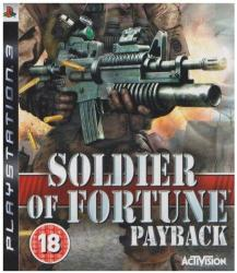 Activision Soldier of Fortune Payback (PS3)