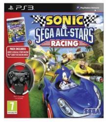 SEGA Sonic & SEGA All-Stars Racing [Wheel Bundle] (PS3)