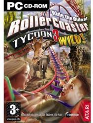 Atari RollerCoaster Tycoon 3 Wild! (PC)