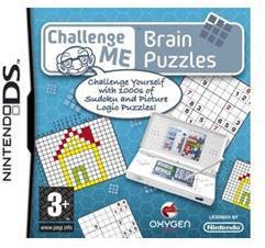 Oxygen Challenge Me Brain Puzzles (Nintendo DS)
