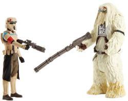 Hasbro Star Wars Zsivány Egyes Moroff és Stormtrooper