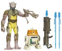 Hasbro Star Wars Lázadók Garazeb Orrelios és C1-10P