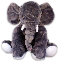 PMS Ülő elefánt plüss - 50cm