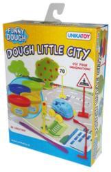 UNIKATOY Funny Dough - Városi forgatag gyurmaszett