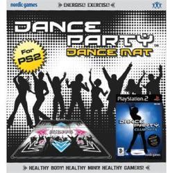 Nordic Games Dance Party Club Hits [Mat Bundle] (PS2) Játékprogram
