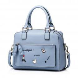 Vásárlás  NUCELLE halványkék kézitáska - Beauty Női táska árak ... cbda9146ef