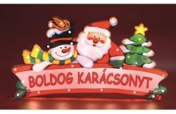 Home Beltéri Boldog Karácsonyt feliratú ablakdísz (KID 19/HU)