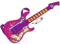 Reig Mia és én elektromos gitár fejmikrofonnal