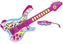 Reig Soy Luna elektromos gitár mikrofonos szemüveggel