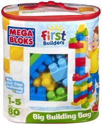 Mega Bloks Építőkocka táskában - 80db