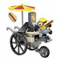 Mega Bloks Minyonok - Stuart Hotdog standja