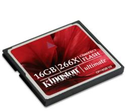 Kingston CompactFlash Ultimate 266x 16GB CF/16GB-U2