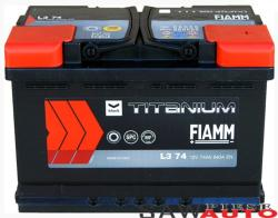 FIAMM Titanium Black 74Ah 640A