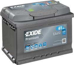 Exide Premium 61Ah 610A EA601