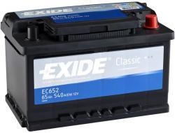 Exide Classic 65Ah 540A EC652