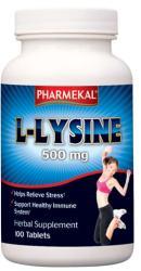Pharmekal L-Lysine (L-lizin) 500mg tabletta 100db