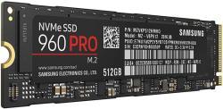 Samsung 960 Pro 512GB M2 Pcie MZ-V6P512BW